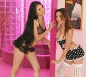 Renae Cruz  and Janae Kae - Ravenous Threesome 2