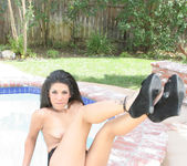Pussycat Seduced Away from the Pool 18