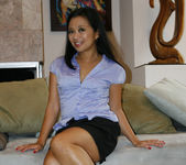 Cindy Starfal, Jackie Lin and Lucky Starr - Asian Lesbian 8