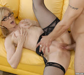 Nina Hartley Rides a Young Stud 19