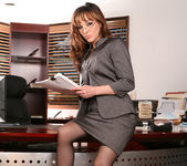 Cytherea and Lylith Lavey Put Their Stamp on Office Sex 4