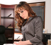 Cytherea and Lylith Lavey Put Their Stamp on Office Sex 5