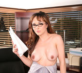 Cytherea and Lylith Lavey Put Their Stamp on Office Sex 17