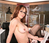 Cytherea and Lylith Lavey Put Their Stamp on Office Sex 19