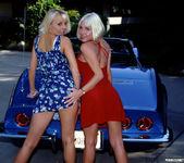 Jasmine Klein and Sandy Knight - Threesome Wash and Wax 2