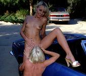 Jasmine Klein and Sandy Knight - Threesome Wash and Wax 9