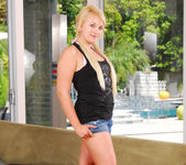 Karisma Marie - Perky Blonde Wet for Interracial 2