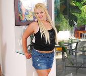 Karisma Marie - Perky Blonde Wet for Interracial 7