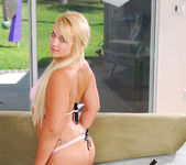 Karisma Marie - Perky Blonde Wet for Interracial 15