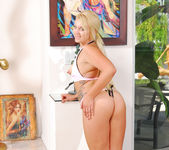 Karisma Marie - Perky Blonde Wet for Interracial 22