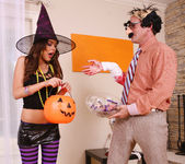 Cindy Jones - Costumed Trickster Gets a Treat 7