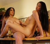 Megan Salinas and Raylene - Tease First 24