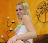 Zoey Monroe Came in her Blowjob Thong 9