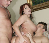 Kylie Ireland Gets Satisfied in a 2 on 1 27
