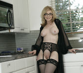 Nina Hartley Gets Double Penetration and Two Cumshots 9