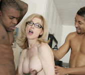 Nina Hartley Gets Double Penetration and Two Cumshots 12