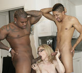 Nina Hartley Gets Double Penetration and Two Cumshots 13