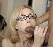 Nina Hartley Gets Double Penetration and Two Cumshots 14