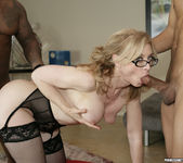 Nina Hartley Gets Double Penetration and Two Cumshots 17