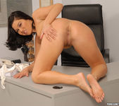 Ashley Blue Gets Interracial Double Penetration 14