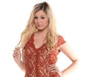 Chloe Lynn - Petite Blonde Scorcher Strips 2