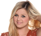 Chloe Lynn - Petite Blonde Scorcher Strips 9