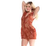 Chloe Lynn - Petite Blonde Scorcher Strips 10