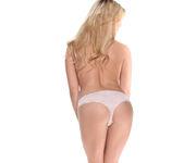 Chloe Lynn - Petite Blonde Scorcher Strips 15
