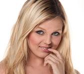Chloe Lynn - Petite Blonde Scorcher Strips 23