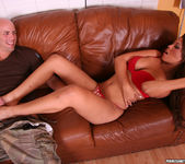 Bridgette B. Lets Him Savor a Footjob 13