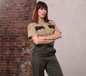 Odile - Softer Side of a Hard-Ass Prison Guard 2