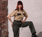 Odile - Softer Side of a Hard-Ass Prison Guard 9