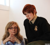 Lily Cade, Lotus Lain, and Nina Hartley - Training Meeting 2