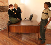 Lily Cade, Lotus Lain, and Nina Hartley - Training Meeting 4