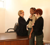 Lily Cade, Lotus Lain, and Nina Hartley - Training Meeting 6