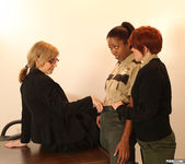 Lily Cade, Lotus Lain, and Nina Hartley - Training Meeting 7