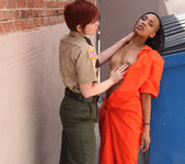 Lily Cade and Nikki Darling Go Outside to Play 6
