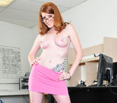 Nikki Rhodes Redhead-ing It Up 9