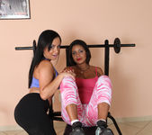 Ana Luz and Celiny Salles - Fine Asses Only Get Finer 9