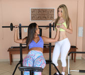 Regininha Gaucha and Suzana Rhios - Fitness Rule One 2