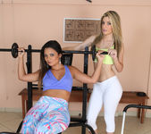 Regininha Gaucha and Suzana Rhios - Fitness Rule One 4