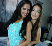 Chloe Amour and Lily Lust - Finally Alone Together 6