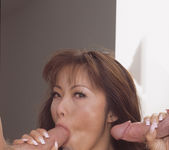 Fujiko Kano and Lucy Thai - Two 2 on 1s for Hot Asians 10