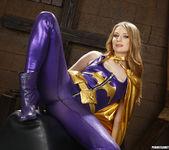 Ela Darling and Nicki Hunter - Naked Superheroes 21