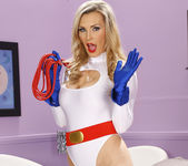 Cassie Laine Handled by Tanya Tate and Zoey Holloway 12