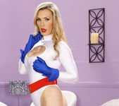 Cassie Laine Handled by Tanya Tate and Zoey Holloway 19