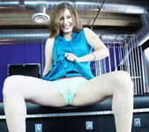 Charli Piper Molested by Nina Hartley's Toys 16