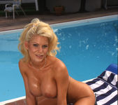 Tina Cherie Lets Him Go for a Dip 11