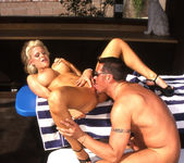 Tina Cherie Lets Him Go for a Dip 13