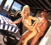 Tina Cherie Lets Him Go for a Dip 24